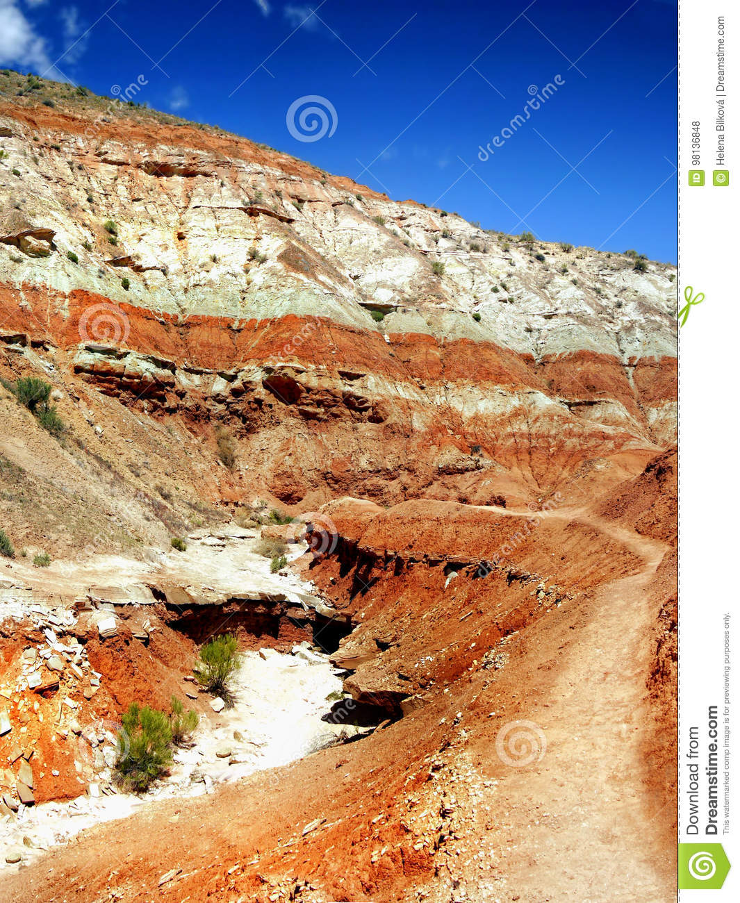 Grand Staircase Escalante Utah Stock Photo Image Of America