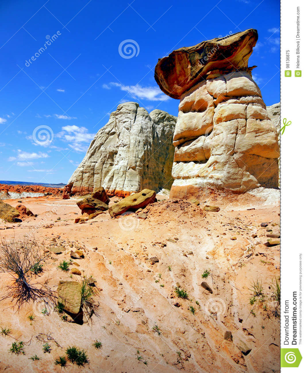 Grand Staircase Escalante Utah Stock Image Image Of Nature Sunny