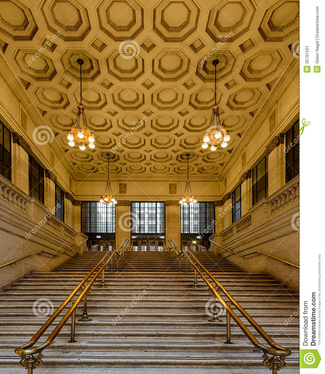 Grand Staircase Stock Image Image 35781501