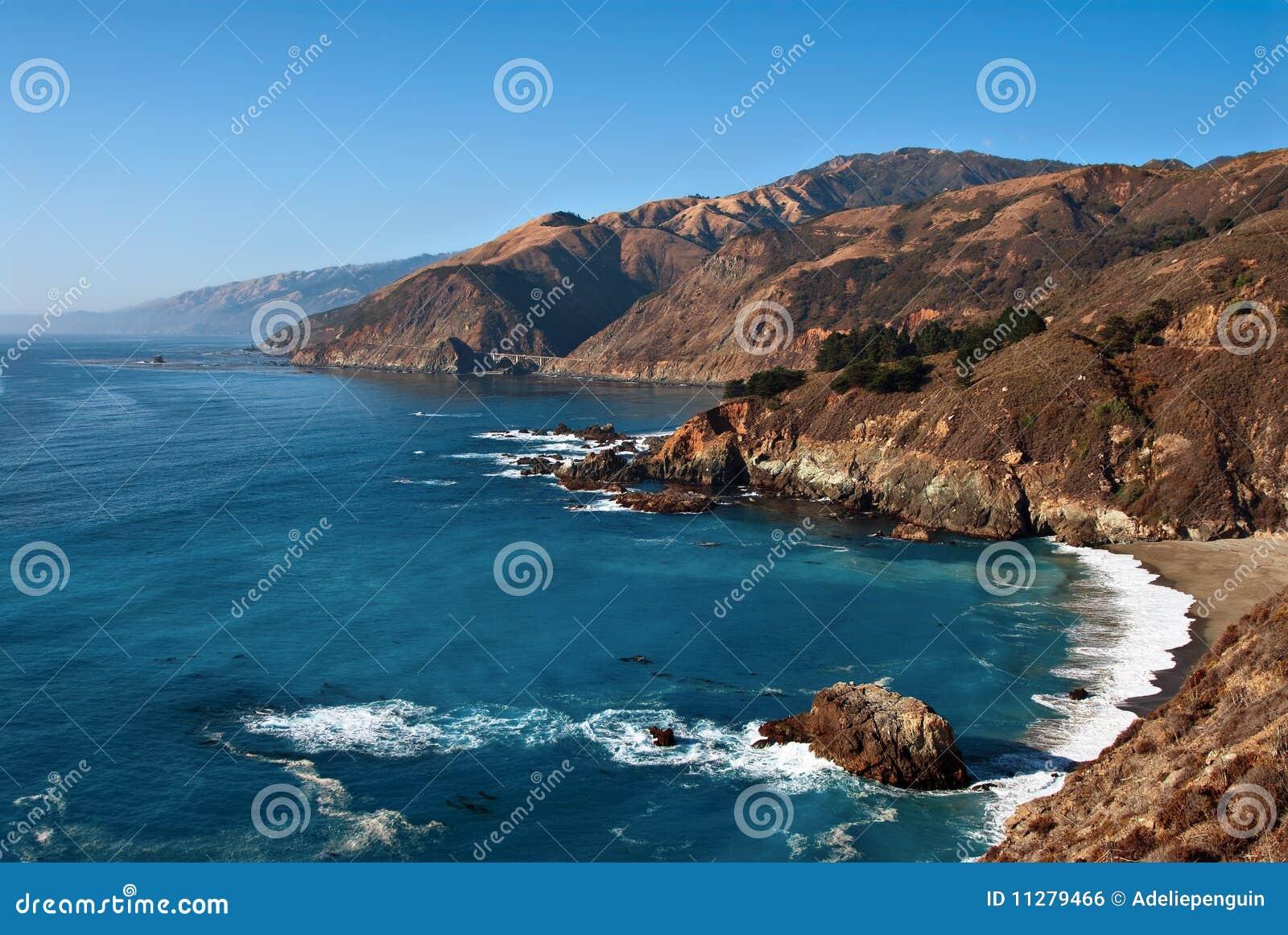 Grand Sur, côte de la Californie