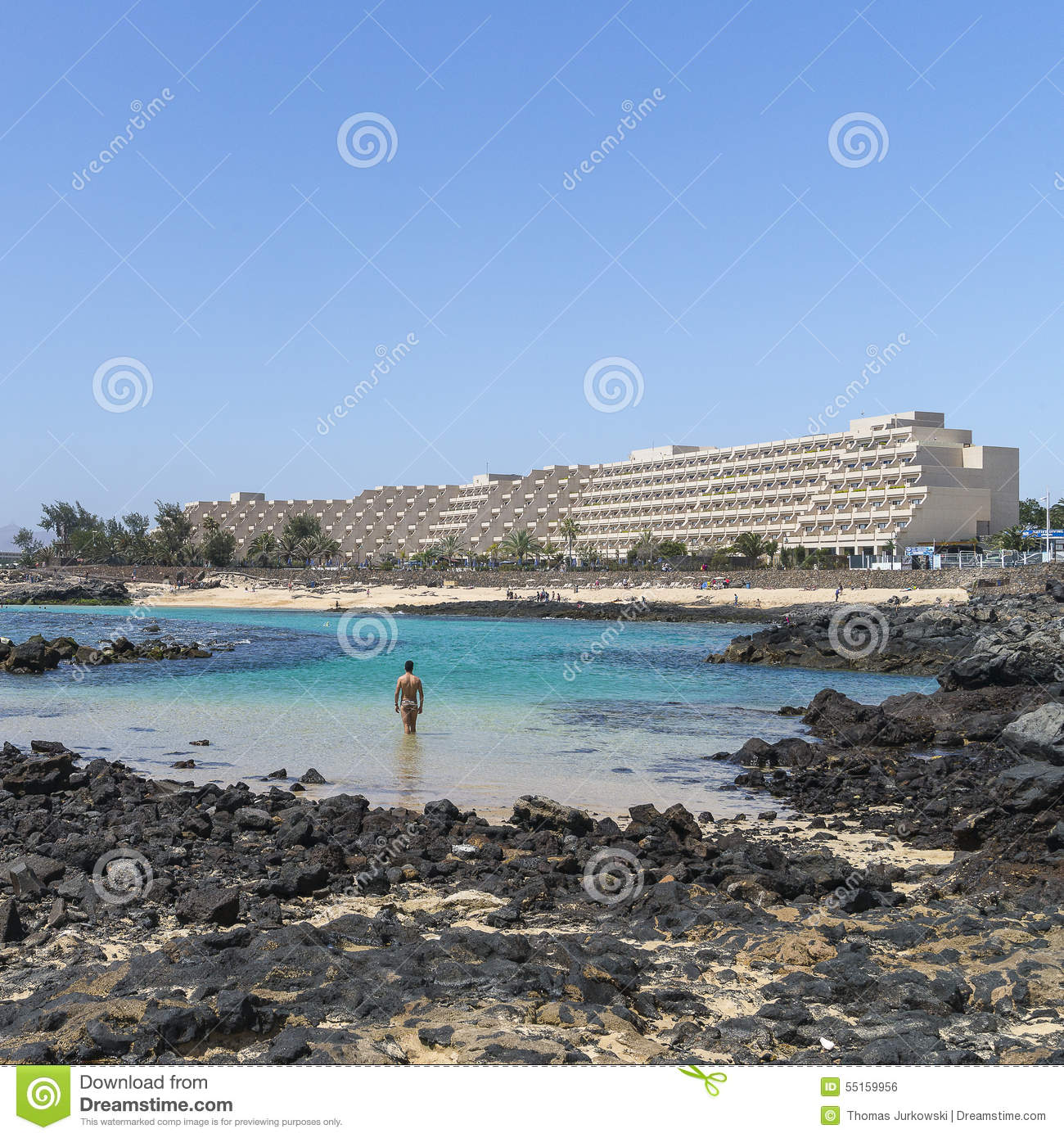 Island Beach People: Grand Teguise Playa Hotel Editorial Photo. Image Of Colour