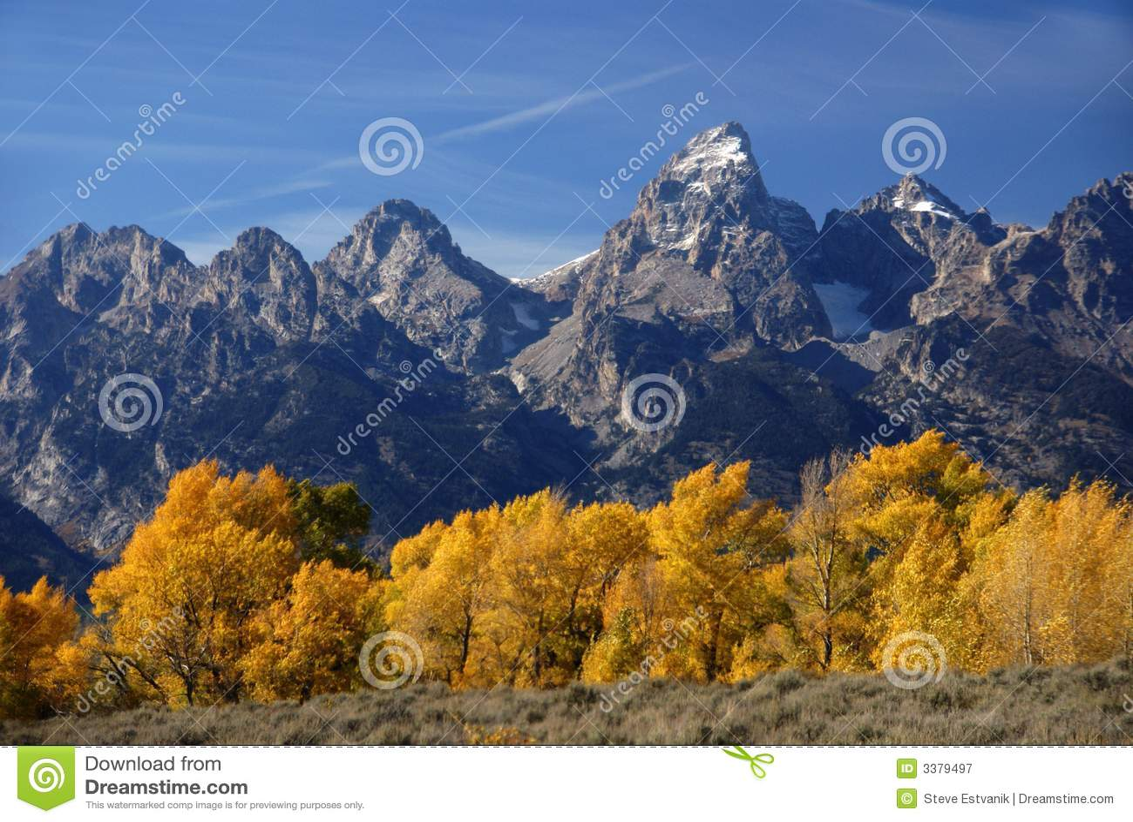 Snake river grand teton national park wyoming - Grand Teton Autumn Royalty Free Stock Photography Image