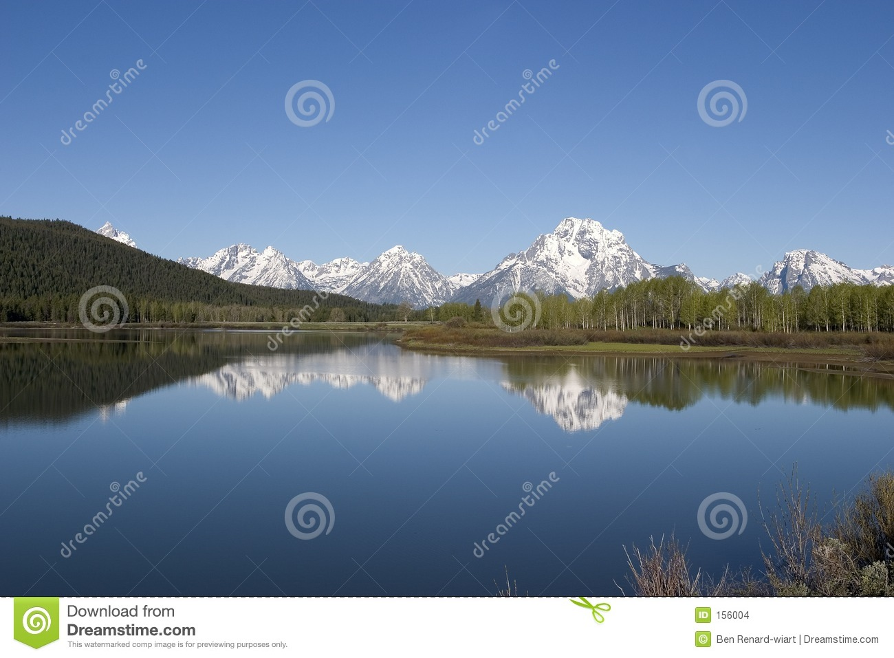 Grand Tetons National Park and reflections