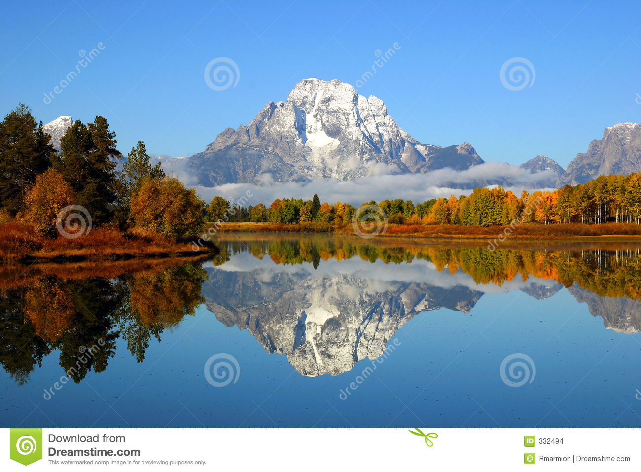 Grand Tetons Reflection