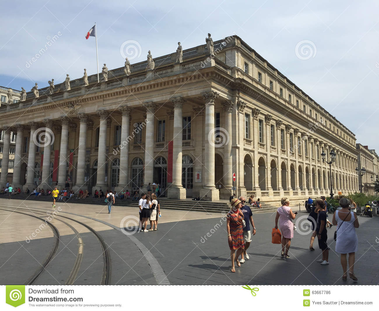 Grand th tre de bordeaux architecture du 18 me si cle for Architecture 18e siecle france