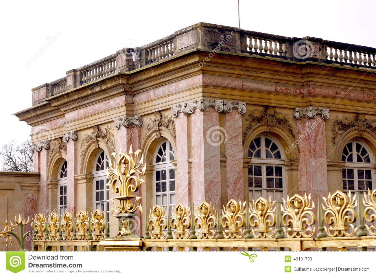 grand trianon palace versailles stock photo image. Black Bedroom Furniture Sets. Home Design Ideas