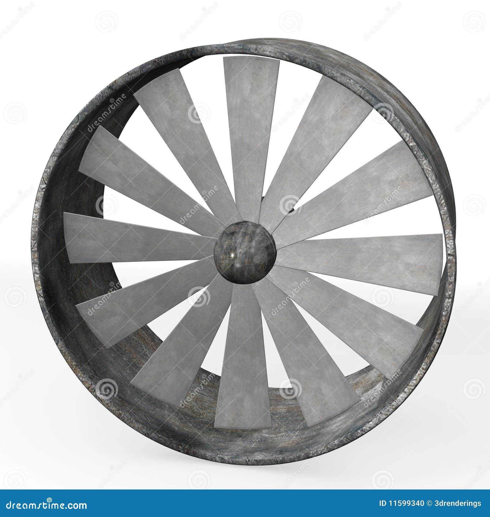 Grand Ventilateur Industriel stock Image