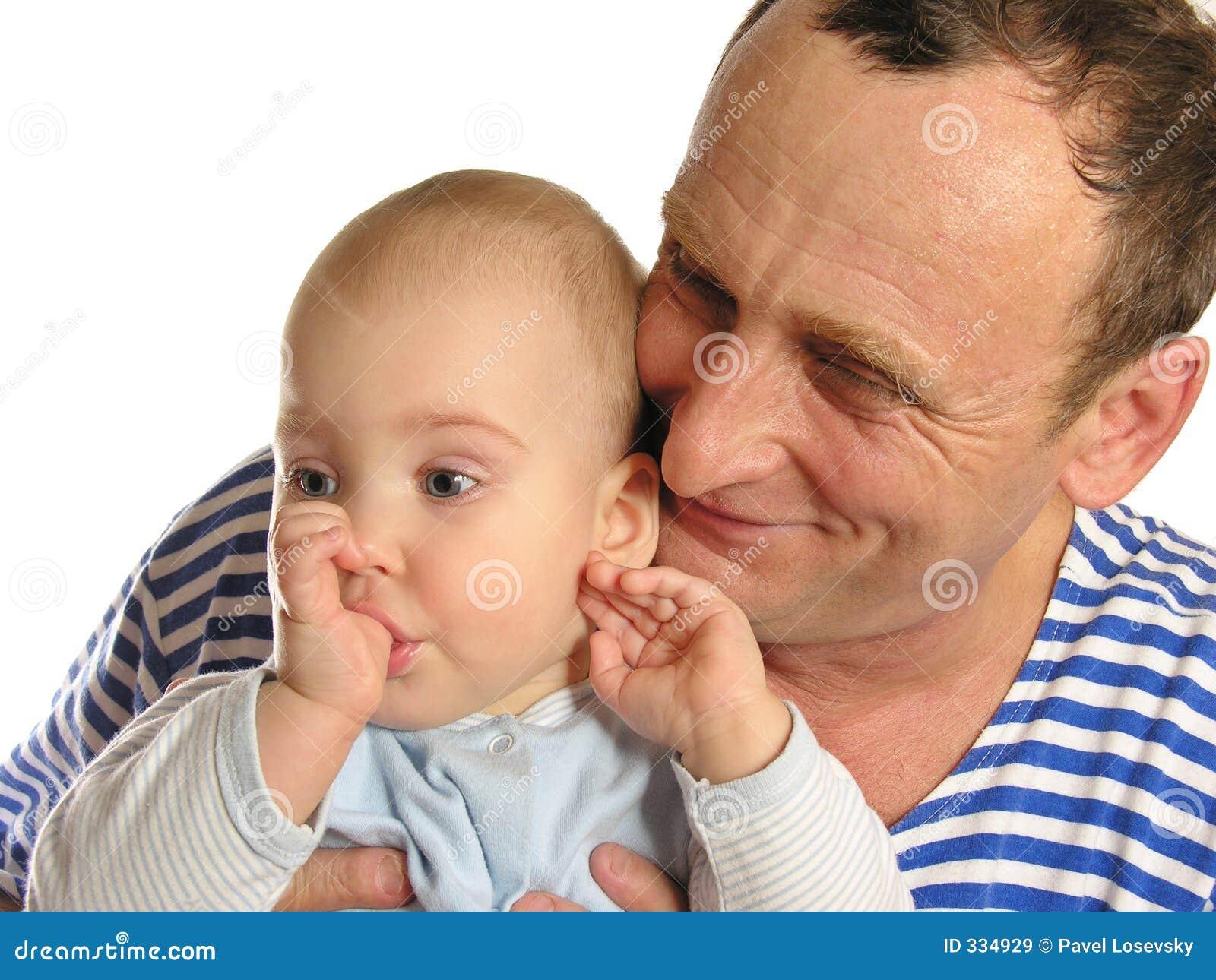Фото дедушка и внучка 22 фотография