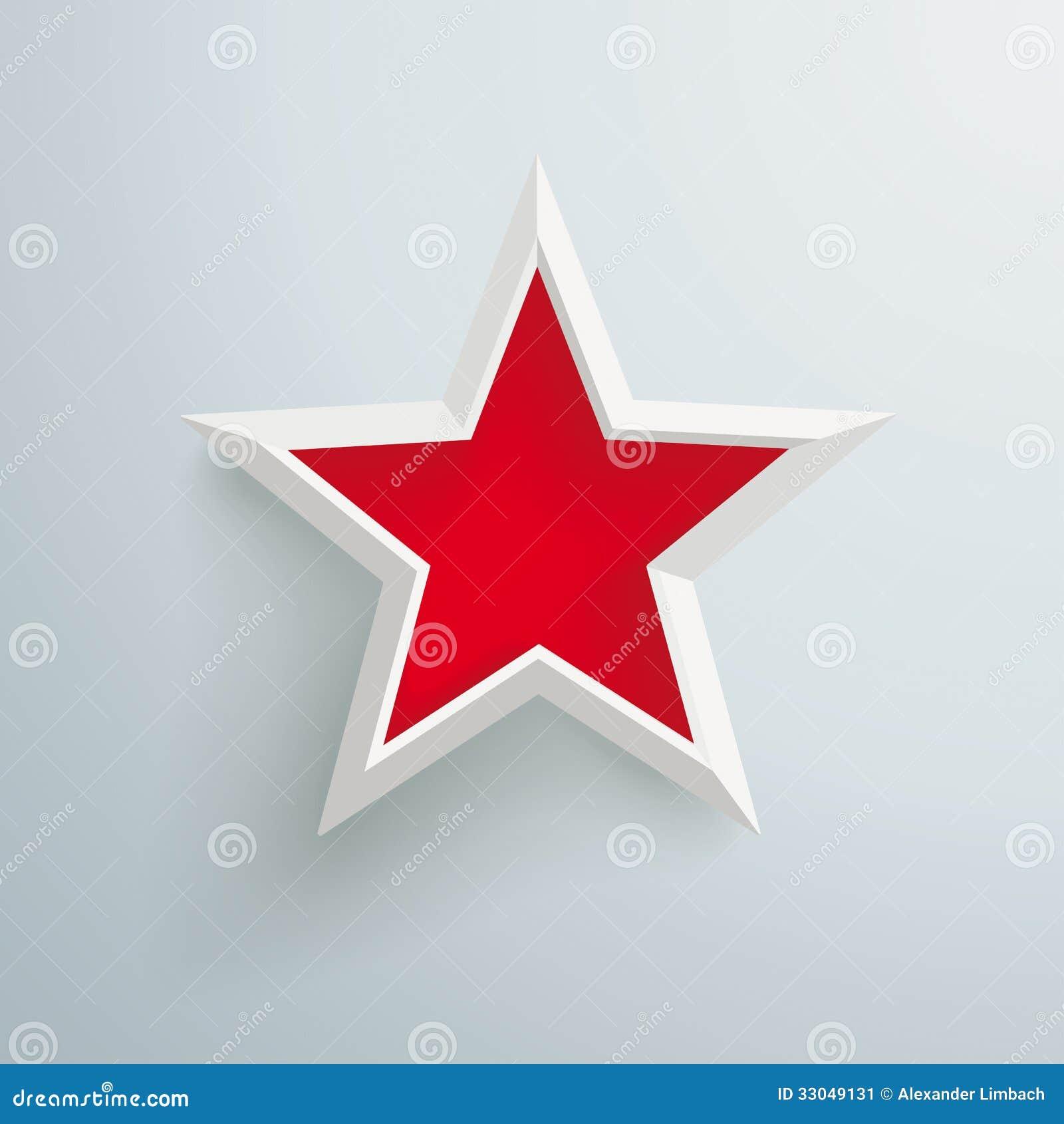 Grande etoile rouge