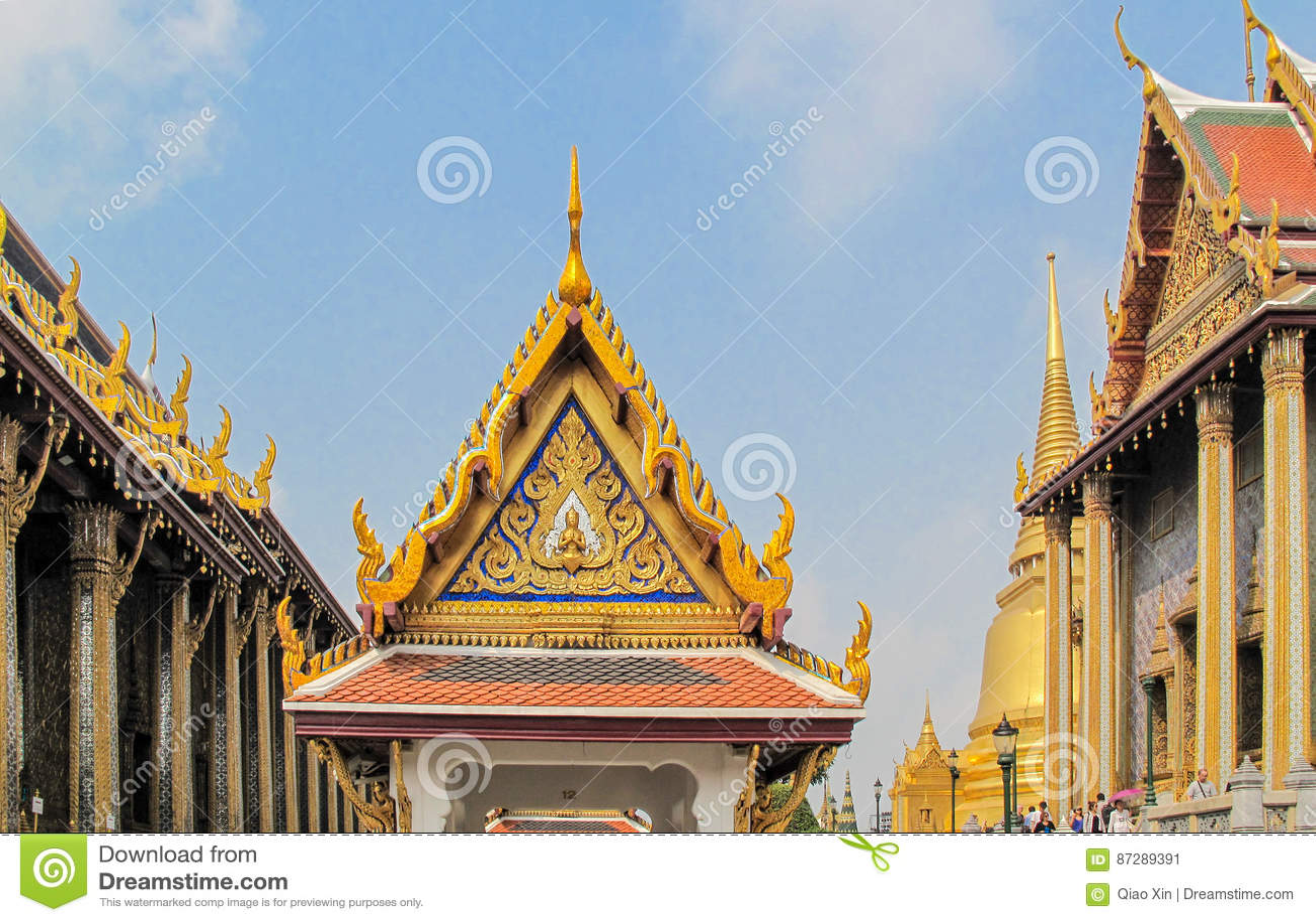 ¼ GRANDE ŒBANGKOK de PALACEï, TAILÂNDIA