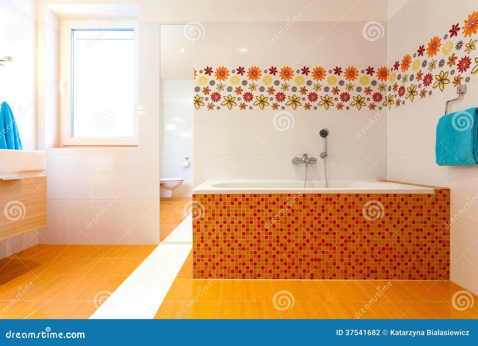 Bagno arancione dekastenopmaat