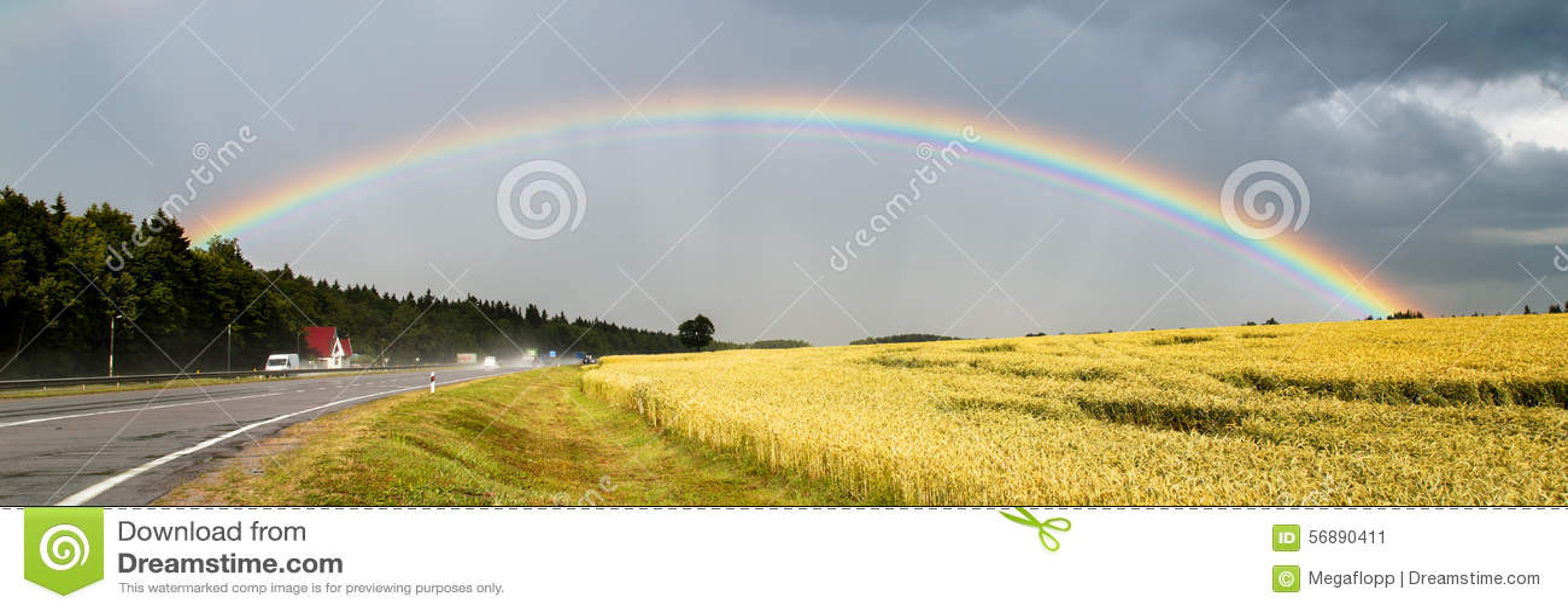 Grande bello arcobaleno