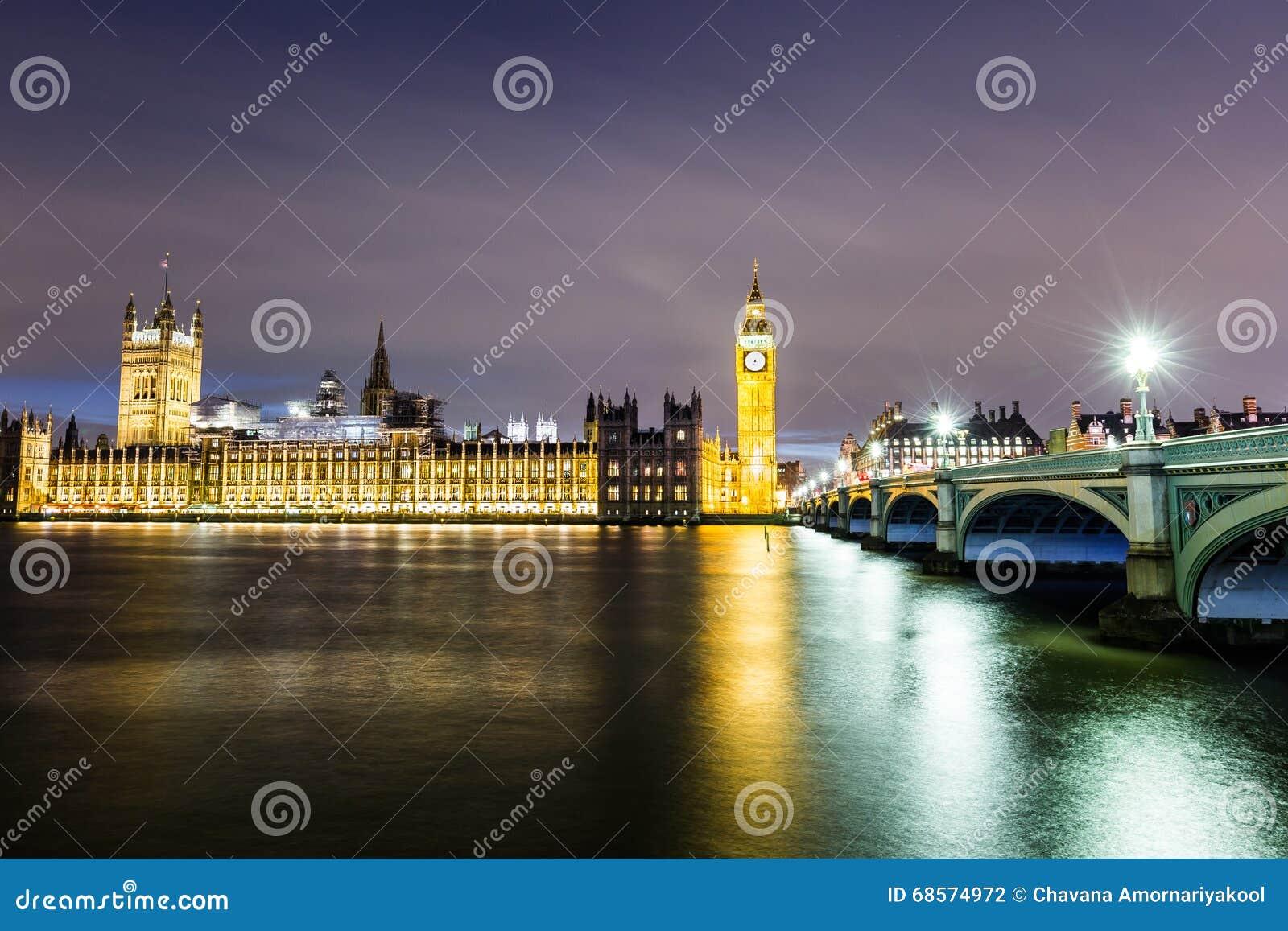 Grande ben e camere del parlamento fotografia stock for Camere parlamento