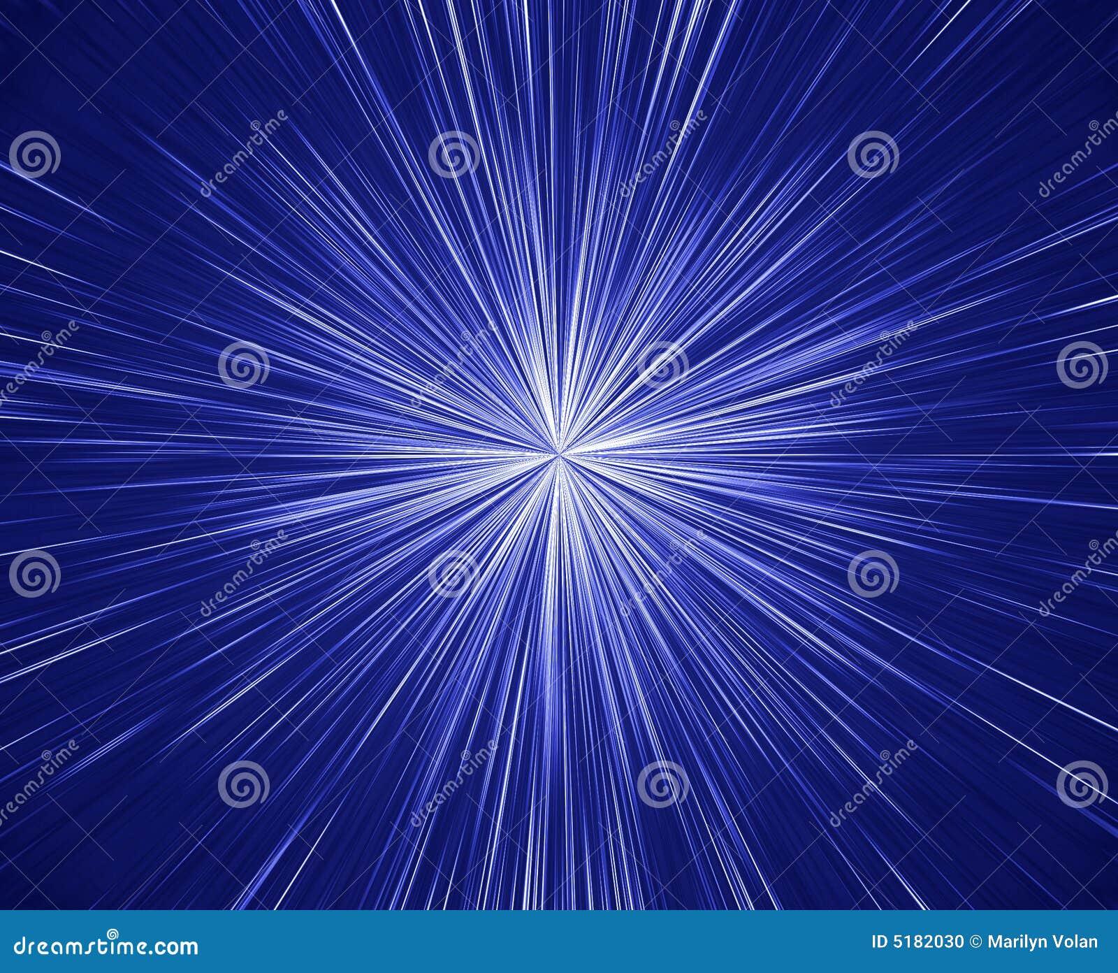 Grande burst della stella