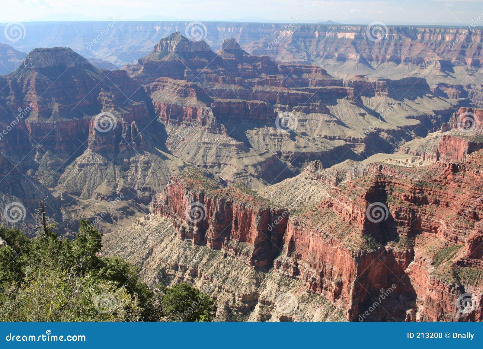 Grande canyon dell orlo del nord