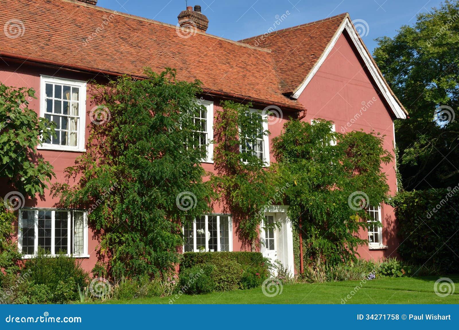 Famosos Grande Casa De Campo Cor-de-rosa Foto de Stock - Imagem de europa  IP68