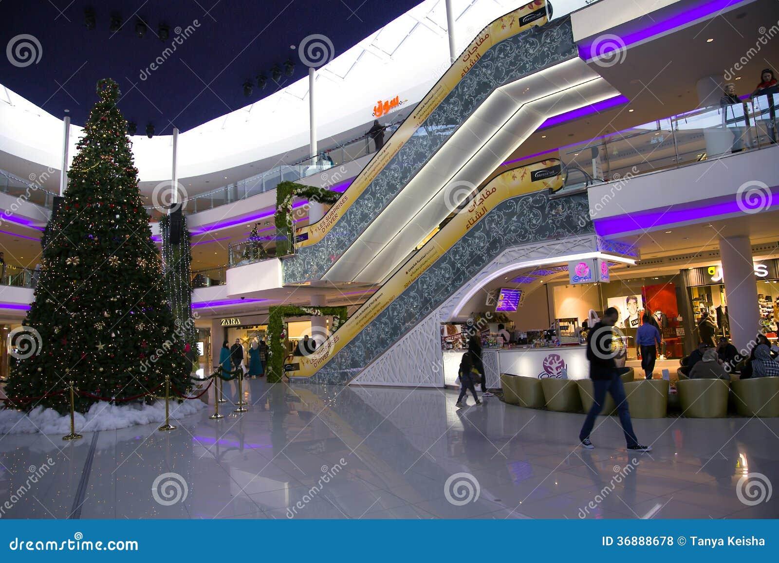 Download Grande Centro Commerciale Moderno Del Marocco Del Centro Commerciale Fotografia Stock Editoriale - Immagine di cliente, disegno: 36888678