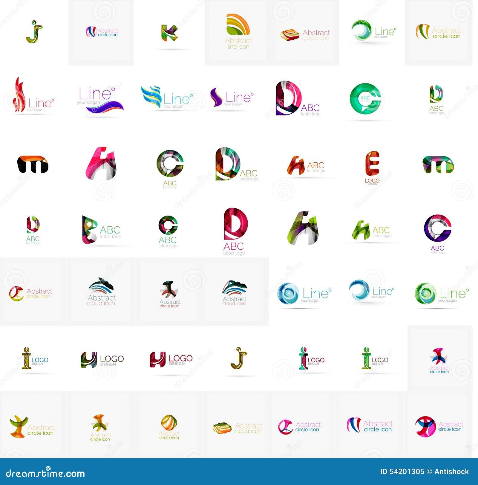 Préférence Grande Collection D'entreprise De Logo De Société Universel  ZV47