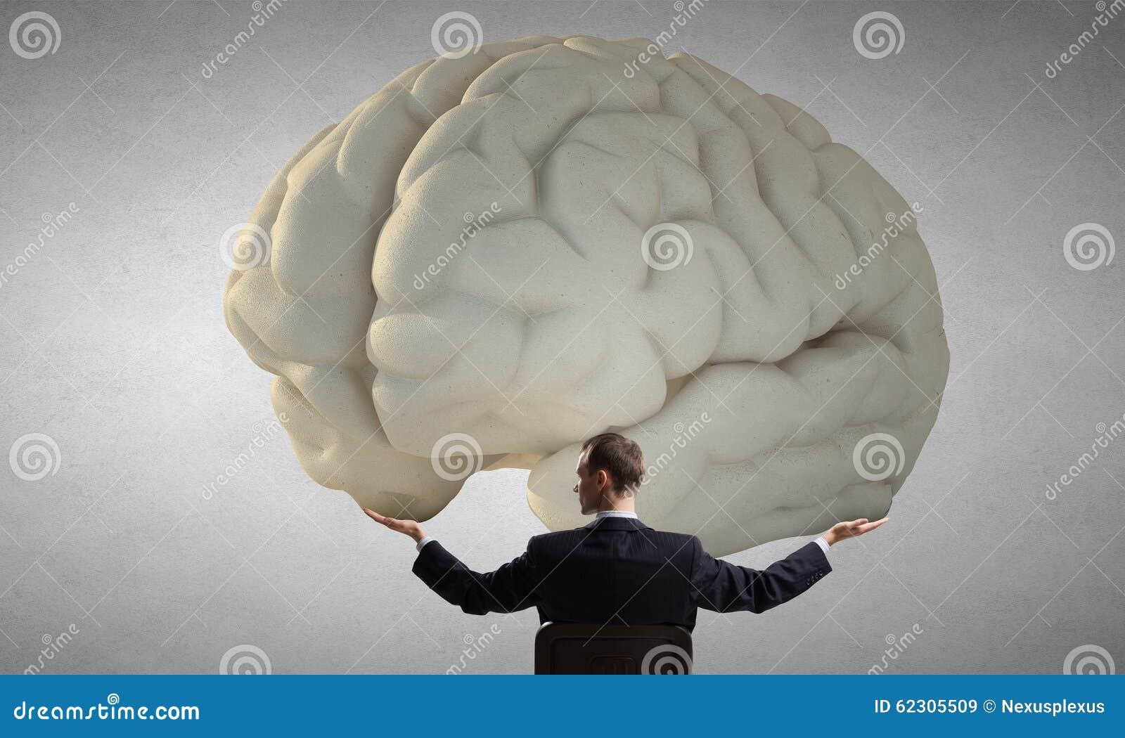 Grande concetto di mente