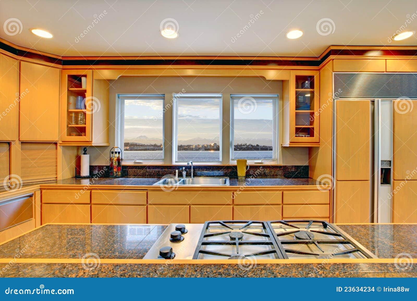 Cuisine en bois de luxe meilleures id es pour votre for Cuisine luxe bois