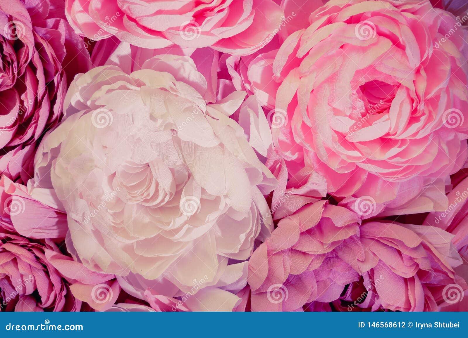 Grande d?coration de fleurs