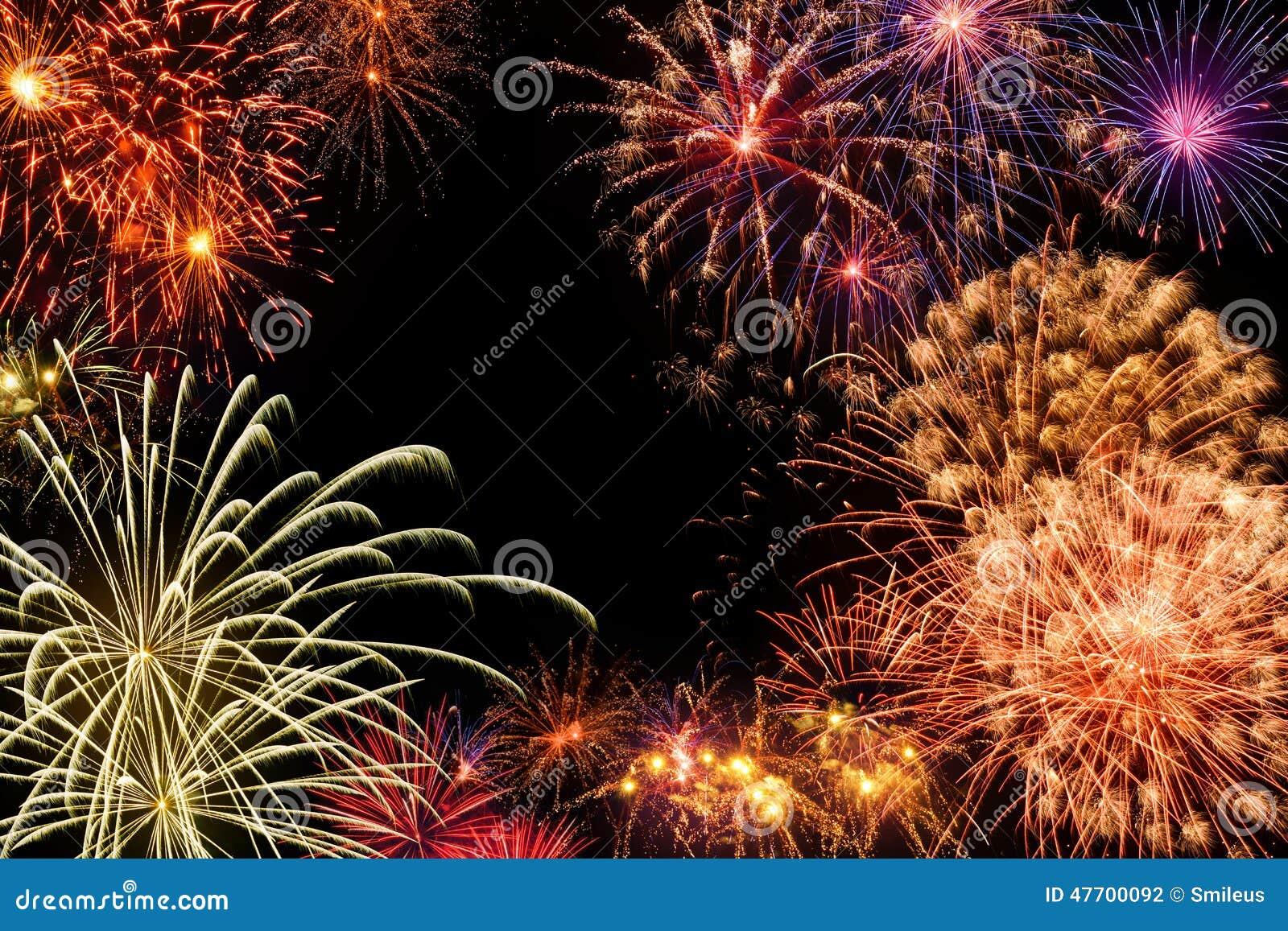 Grande esposizione dei fuochi d artificio