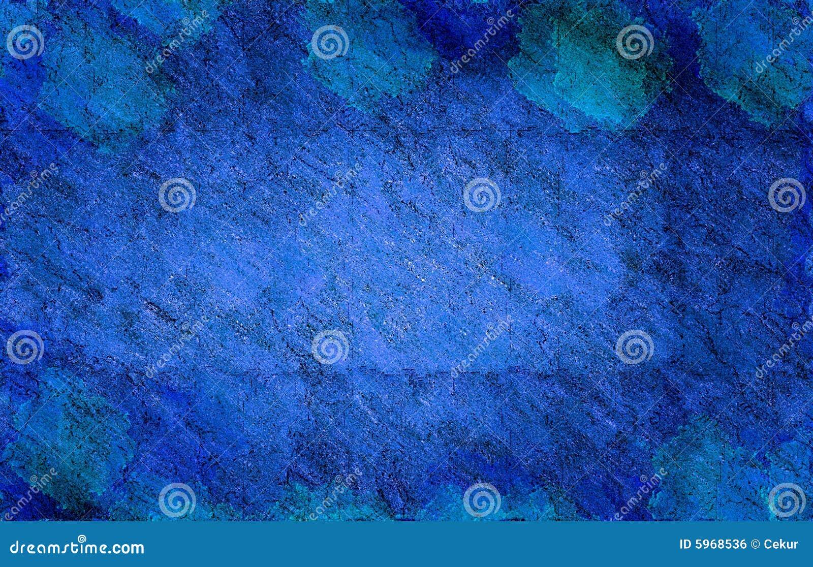 Grande grunge bleue