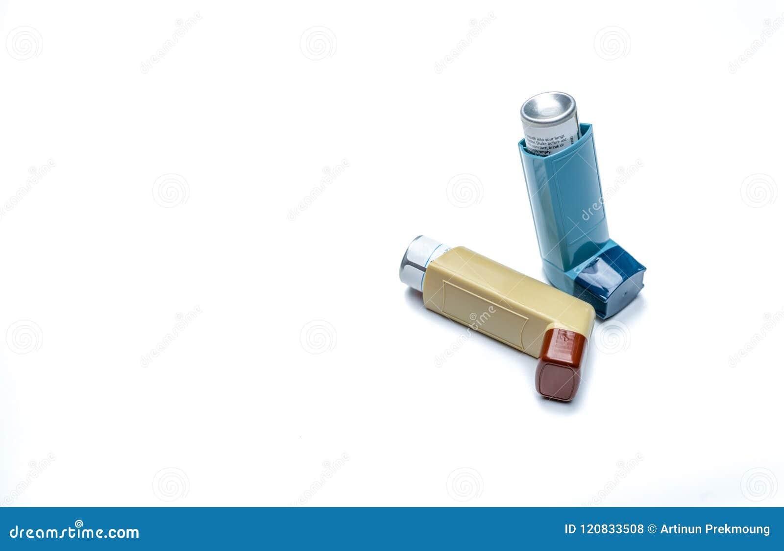Grande inalador Controlador da asma, equipamento do apaziguador Os esteroides e o bronchodilator drogam-se para a asma e a bronqu
