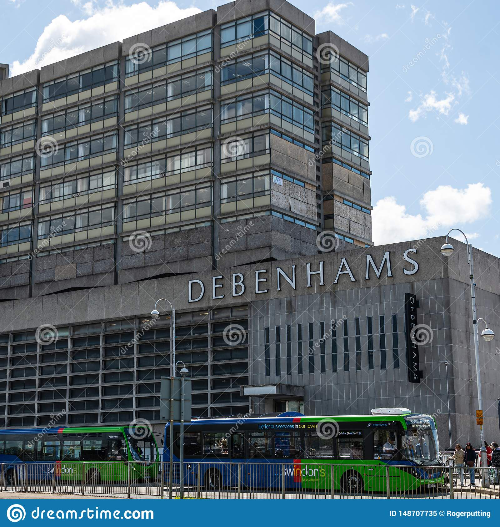 Grande magazzino di Debenhams Swindon