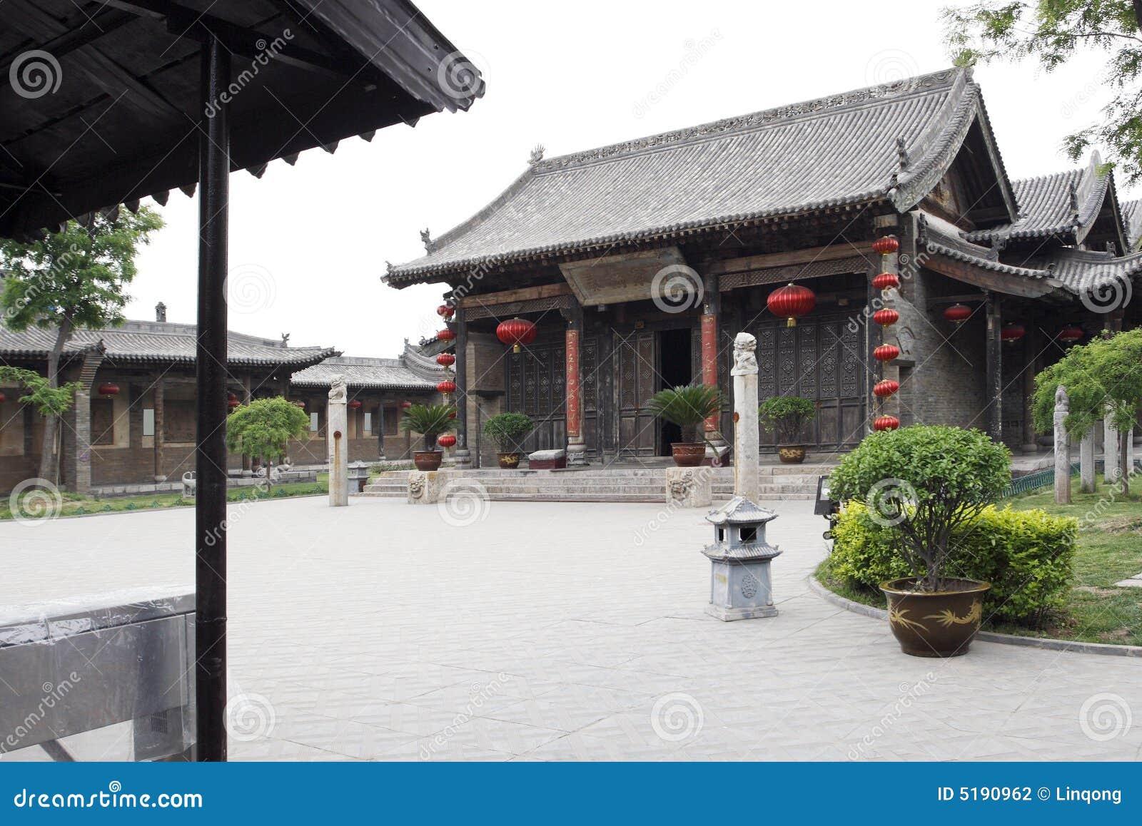Grande maison de la chine photo stock image du commer ant 5190962 - Maison de la chine boutique ...