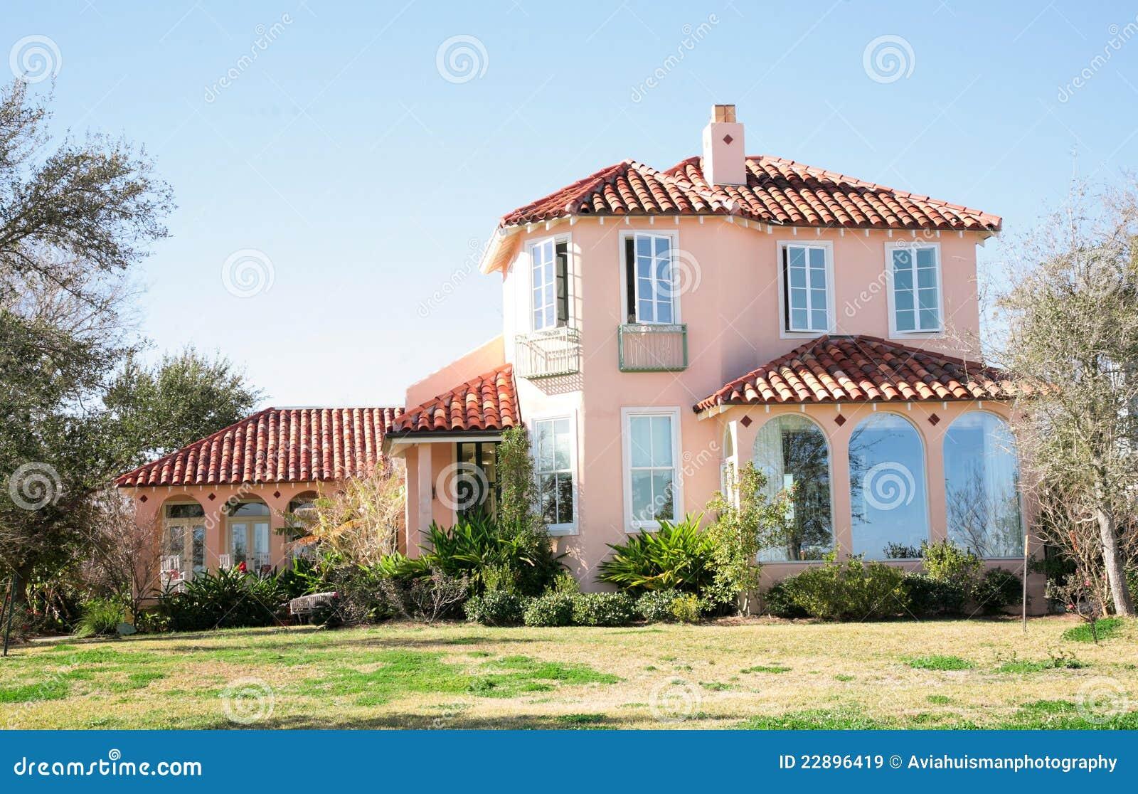Grande maison espagnole de type image stock image du maison home 22896419 - Maison modulaire espagnole ...