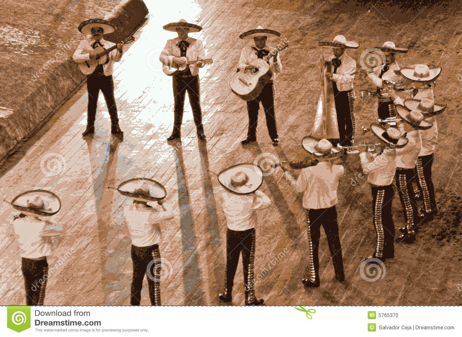 Grande mariachi, México