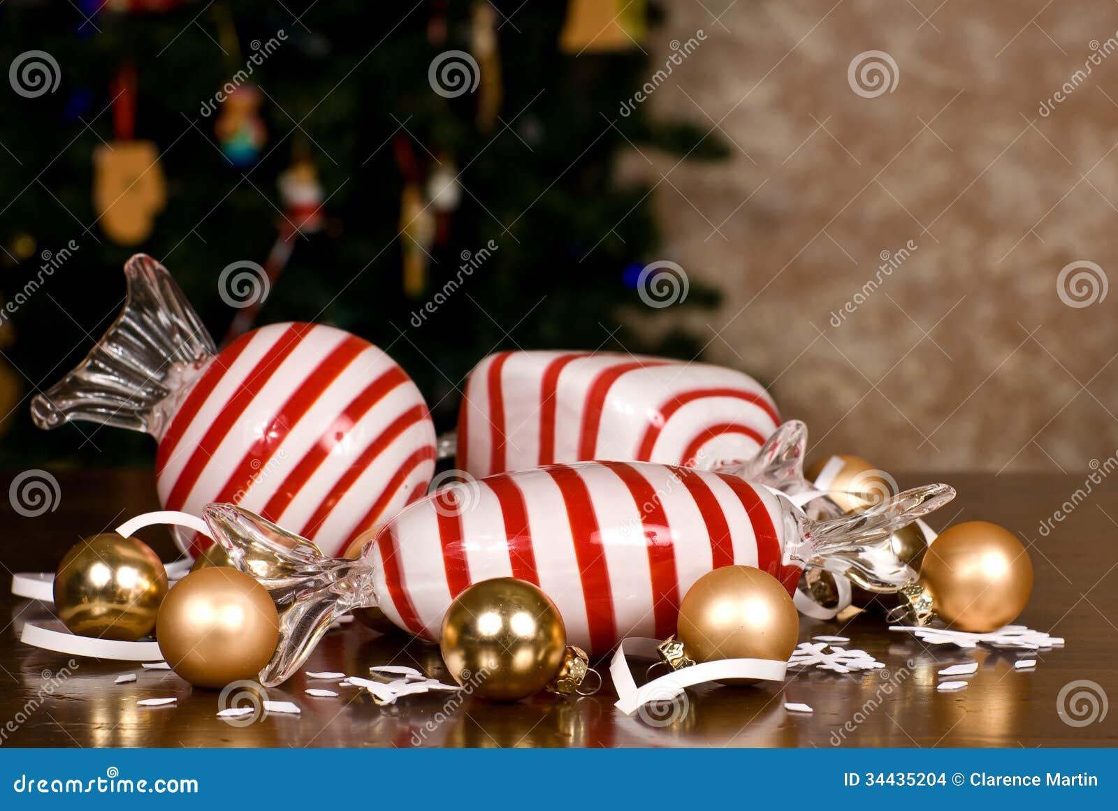 Lampadine Decorate Per Natale : Candy del vetro soffiato, piccole ...