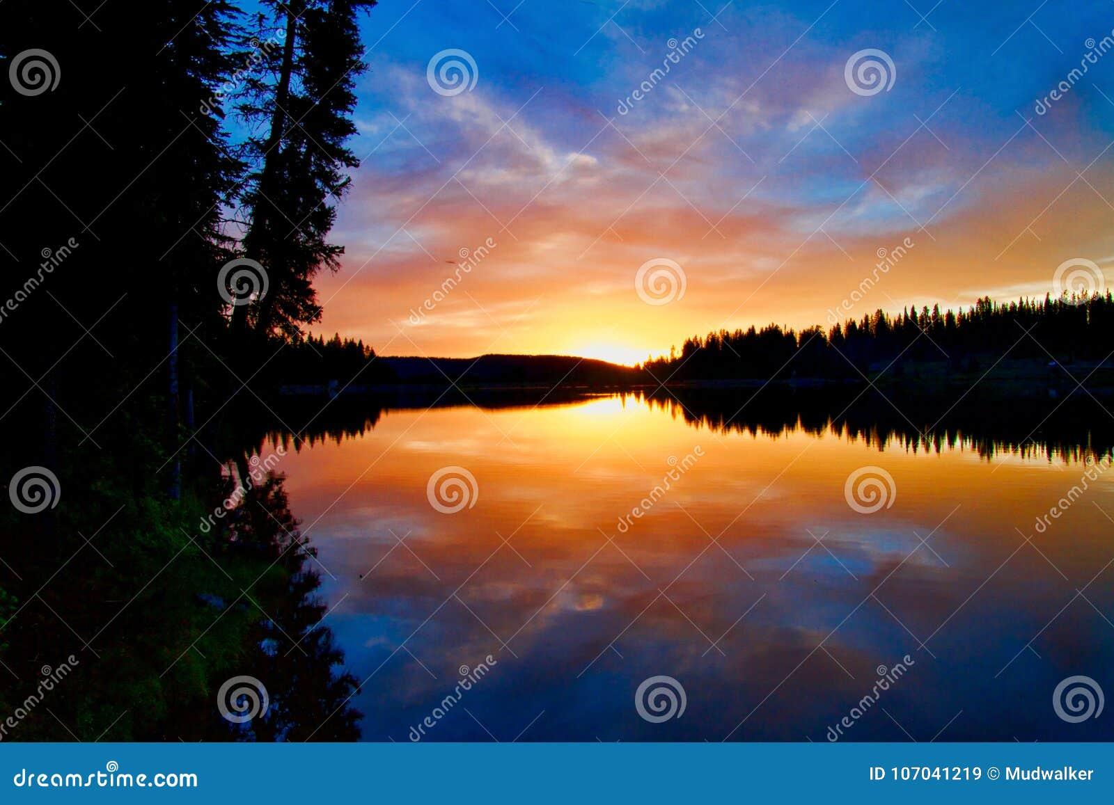Grande Mesa Sunset