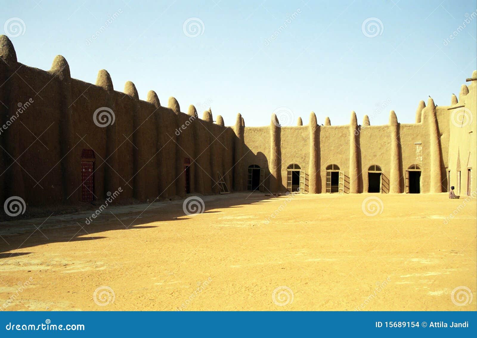 A grande mesquita, Djenne, Mali