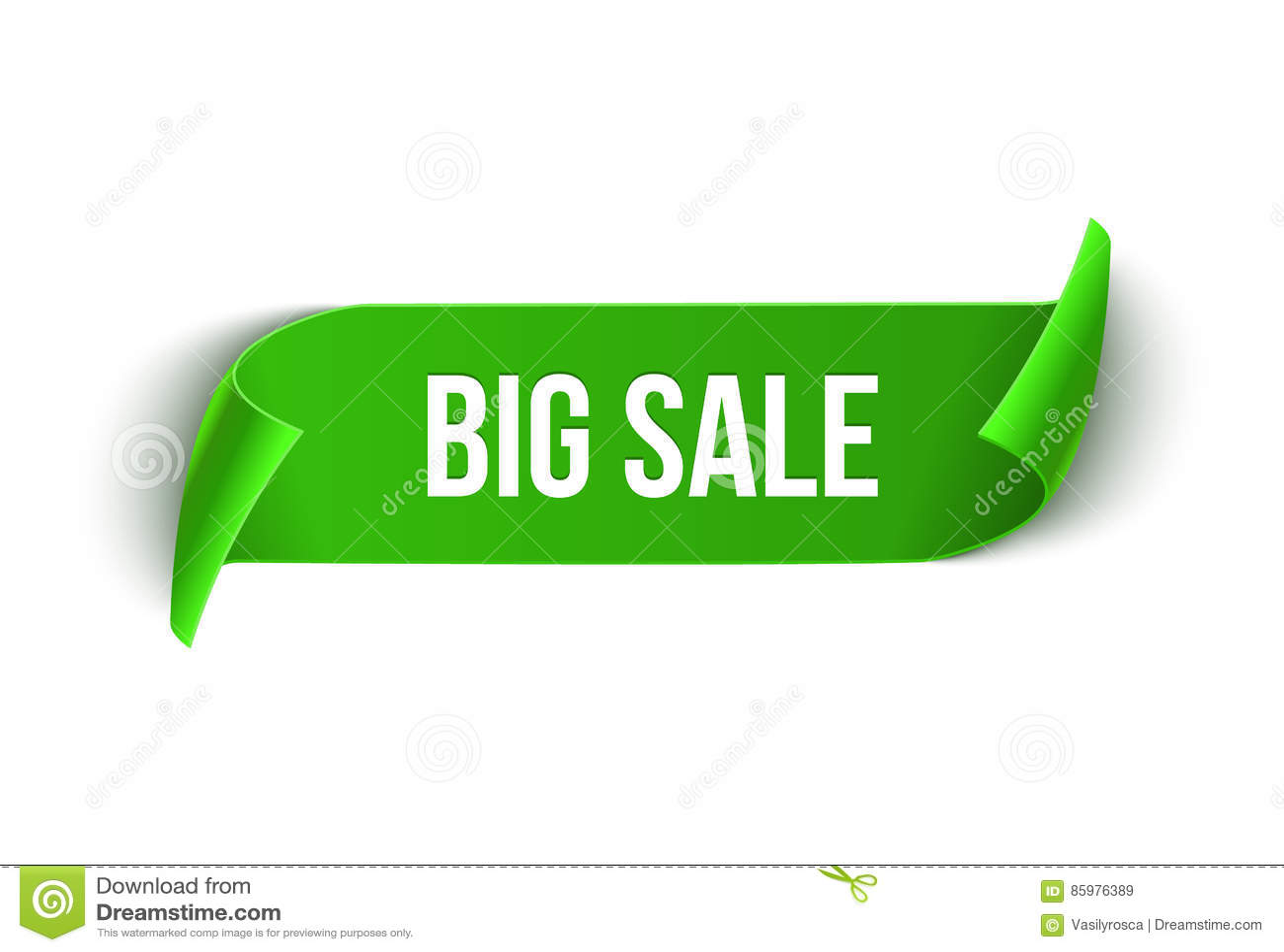 Grande modello di progettazione del nastro di vettore di vendita Etichetta di vendita dell insegna Etichetta di sconto di offerta