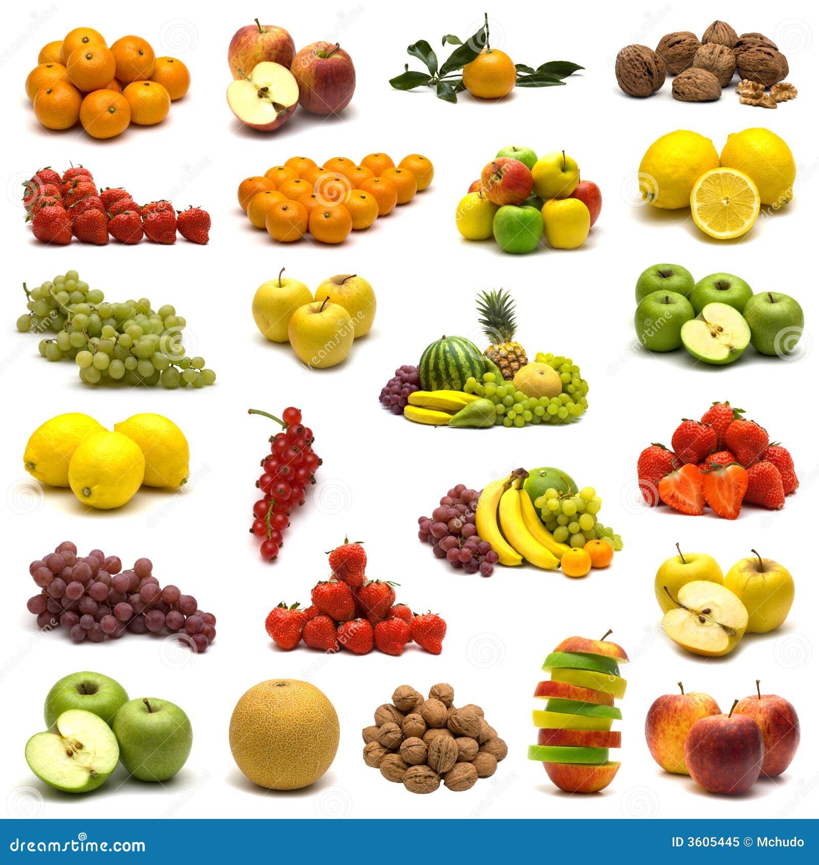 Grande page des fruits photo libre de droits image 3605445 - Image fruit exotique ...