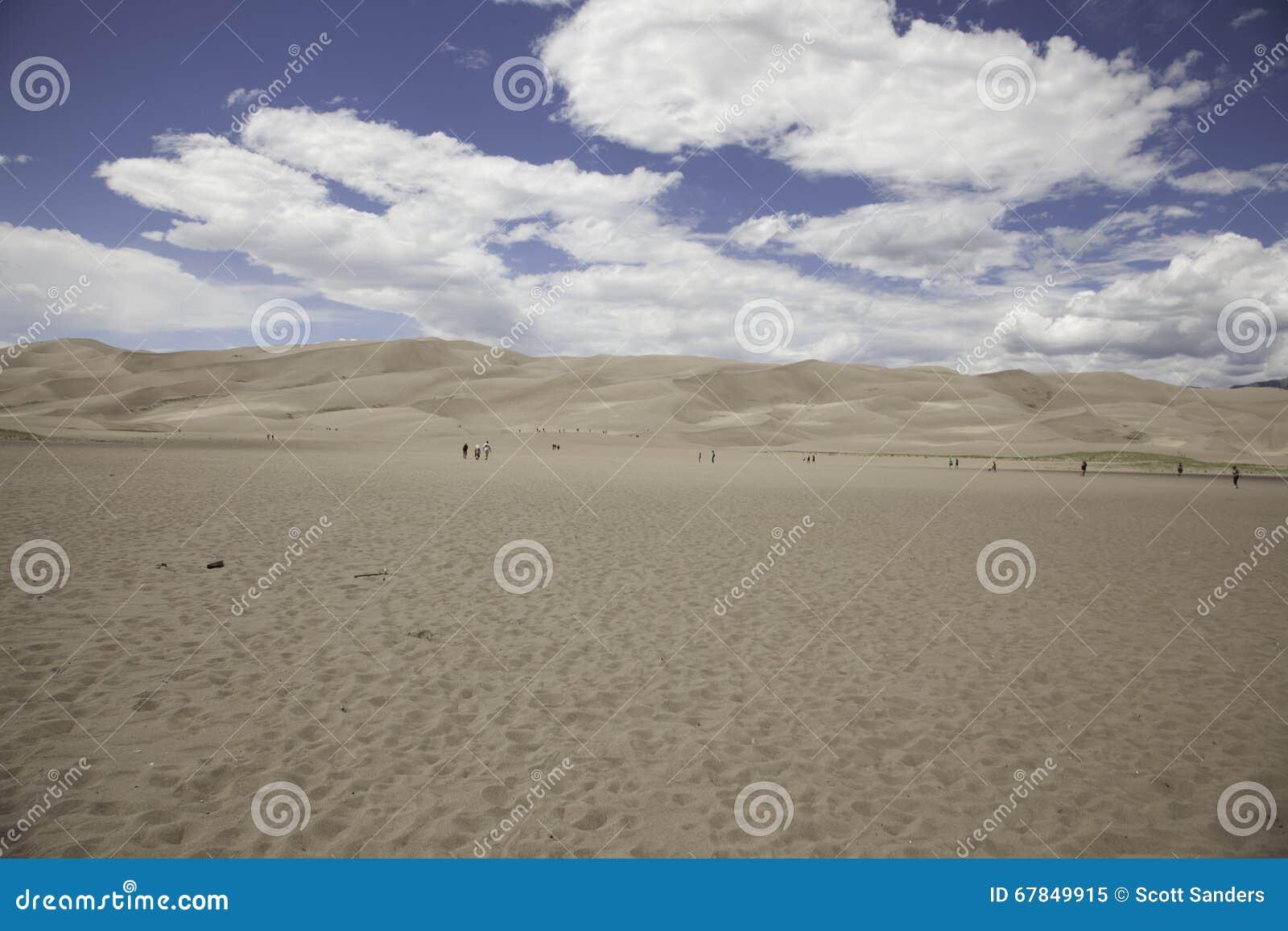 Grande parco nazionale delle dune di sabbia