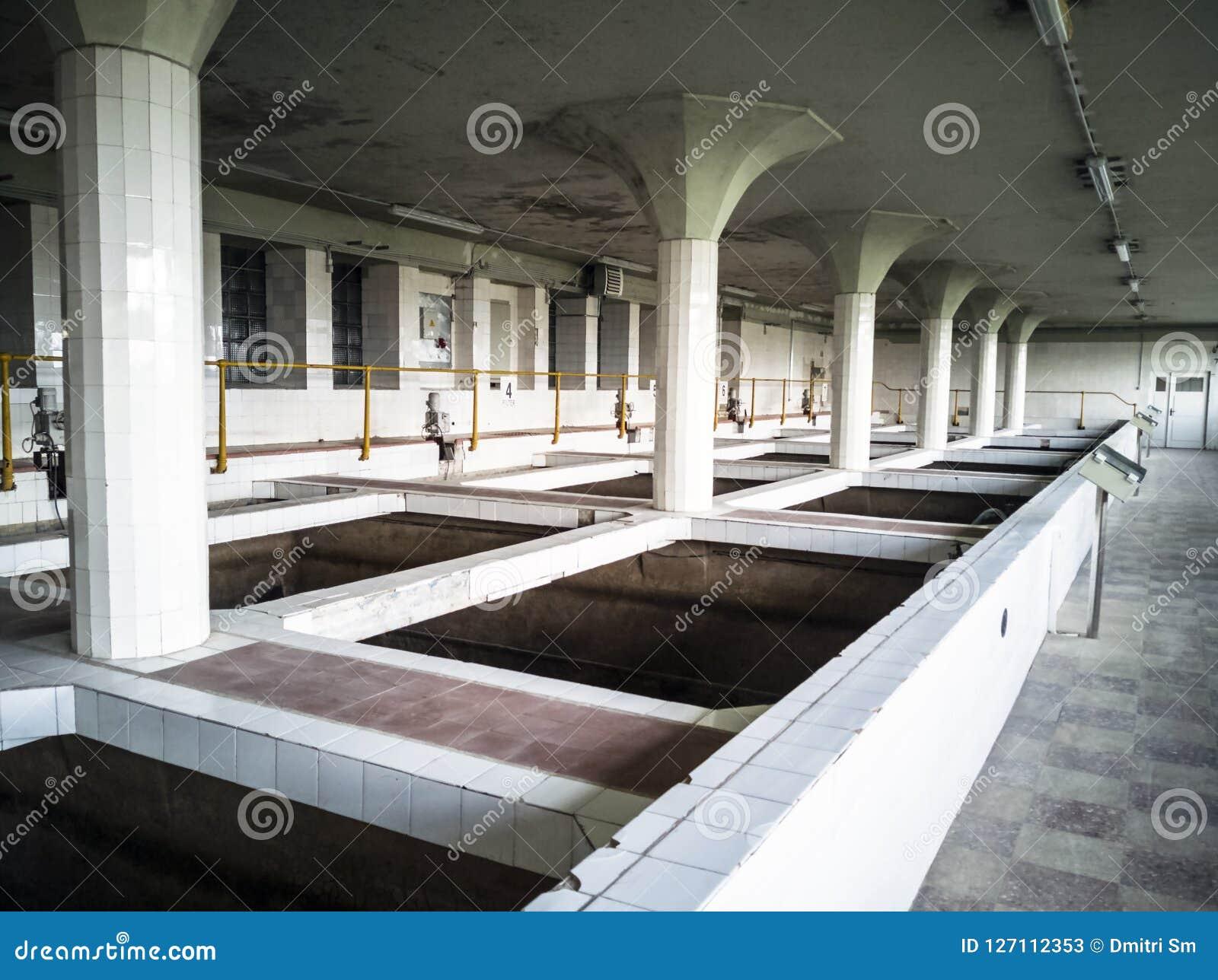Grande pièce industrielle de traitement de l eau