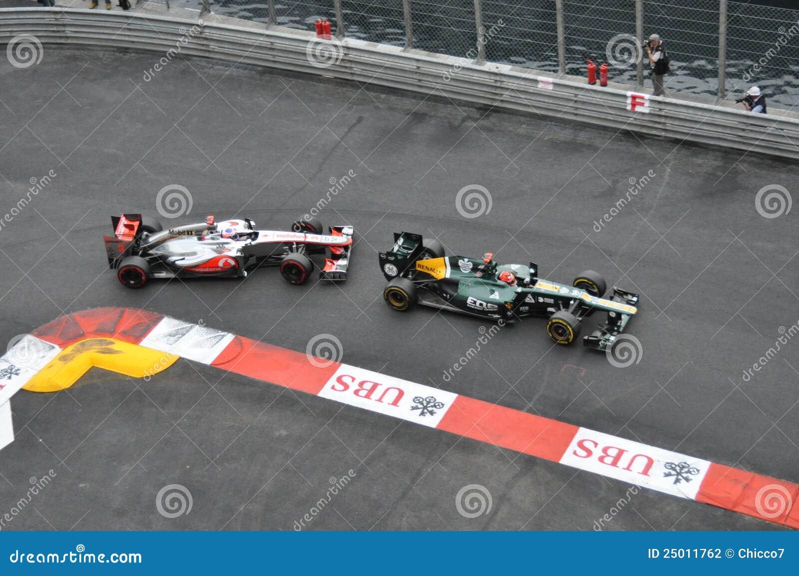 Grande Prix Monaco 2012 - McLaren e Caterham