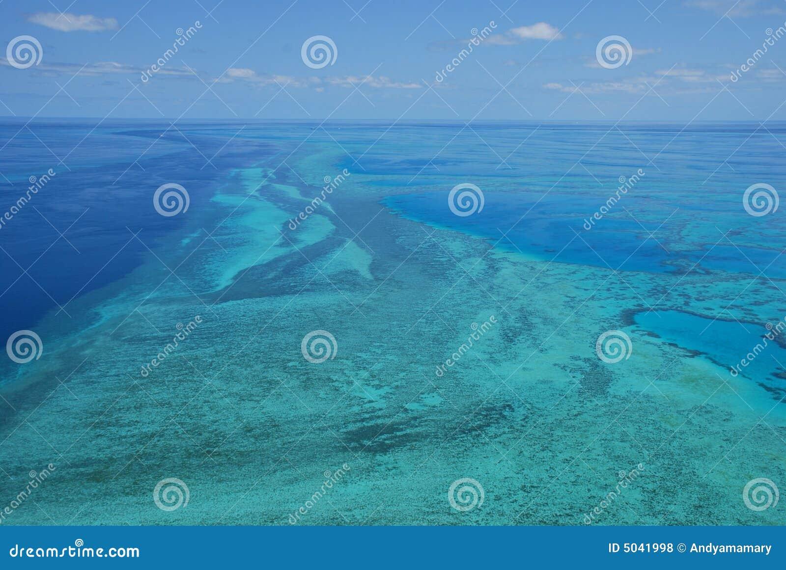 Grande recife de barreira - Austrália