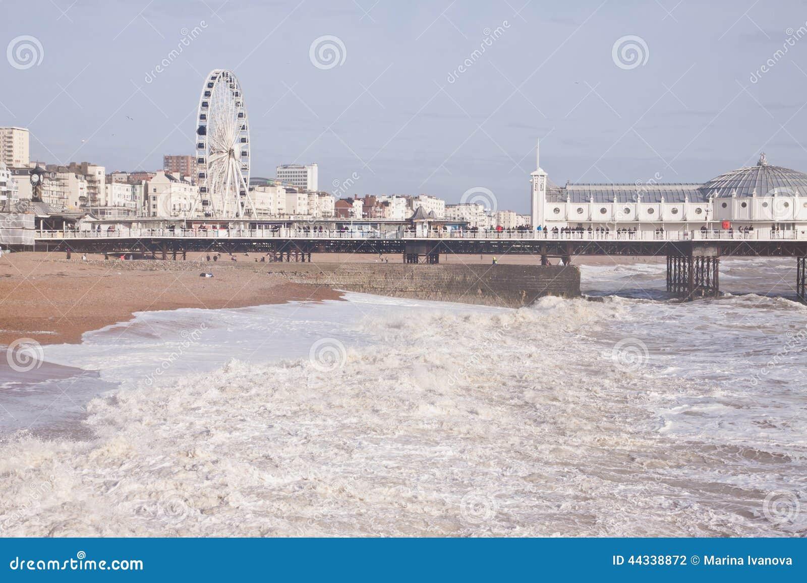 Grande roue à Brighton