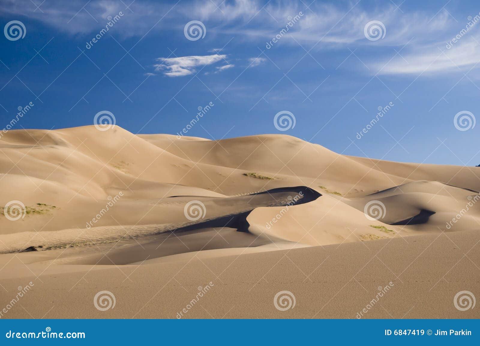 Grande sabbia delle dune