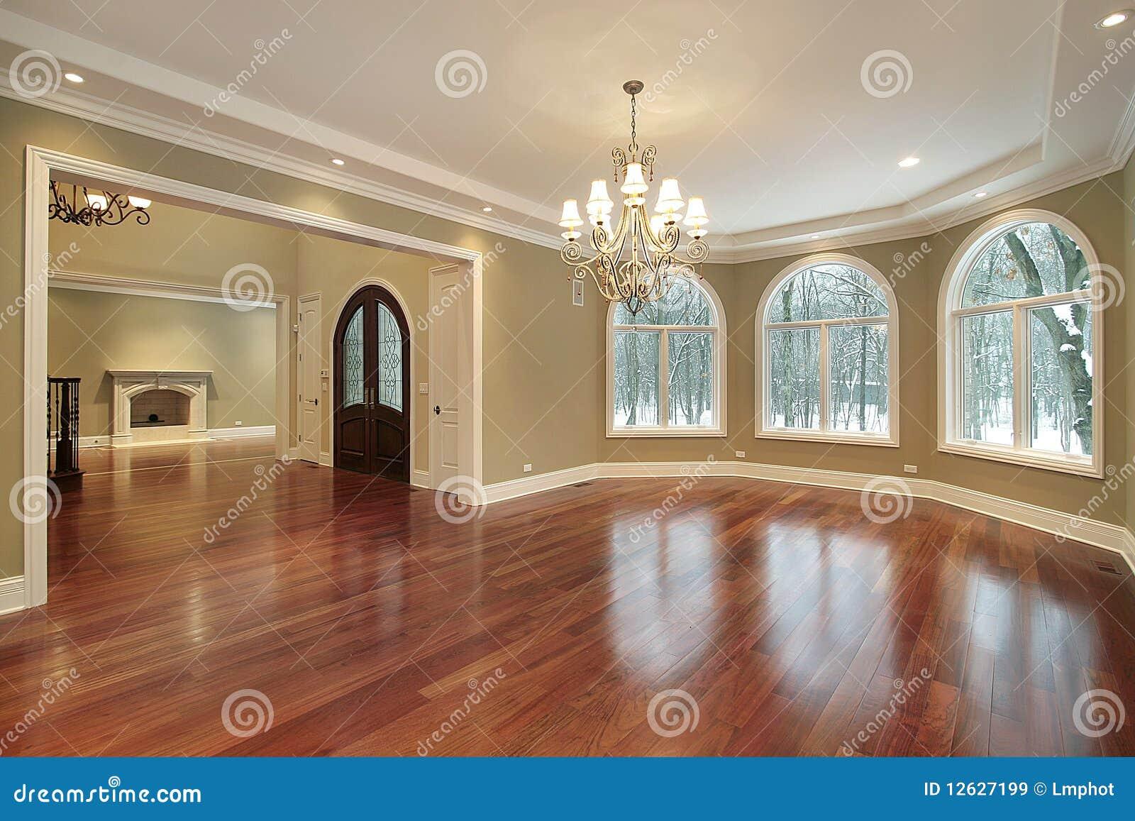 Grande sala de jantar na home luxuosa imagens de stock for Sala grande
