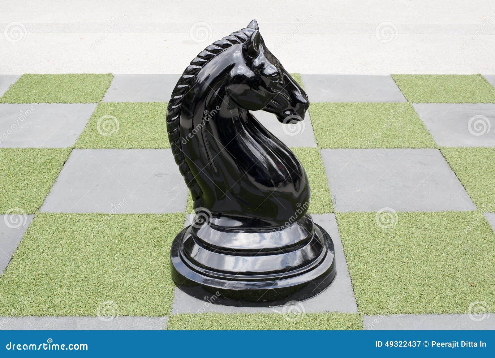 Grande scacchiera - grandi scacchi del cavallo