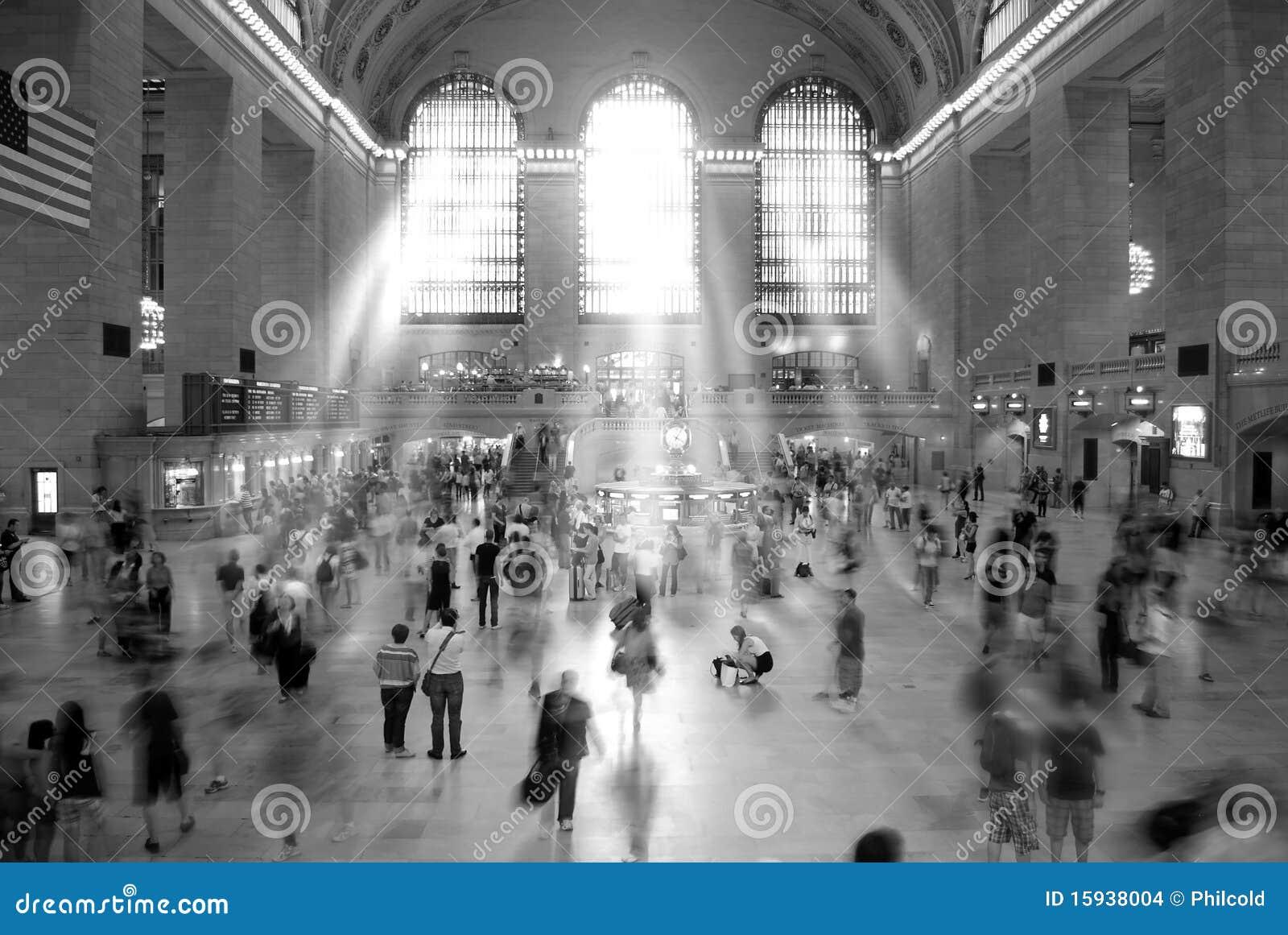 Grande stazione centrale New York
