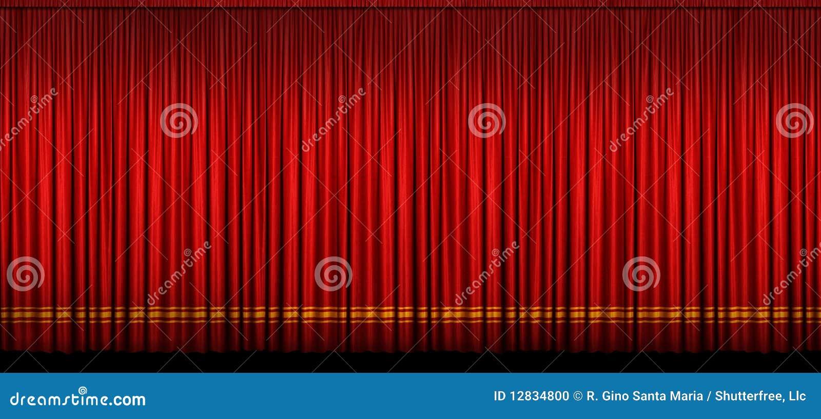Grande tenda rossa della fase