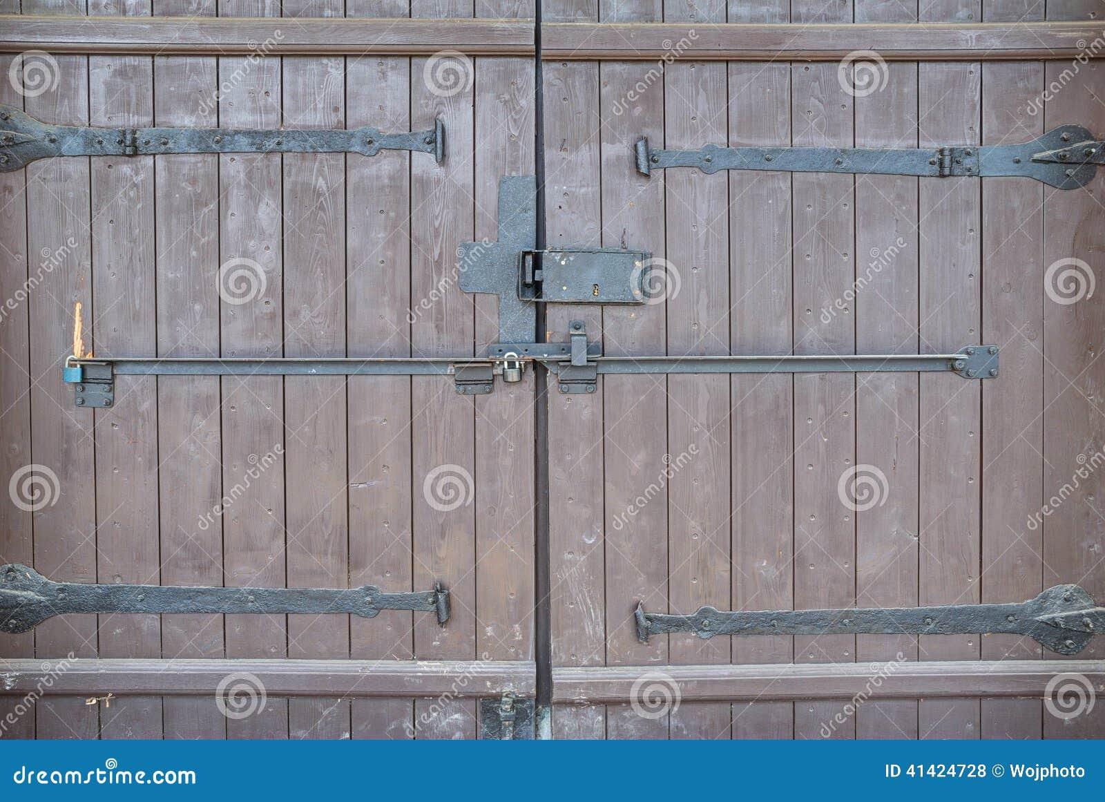 Grande texture en bois de porte photo stock image 41424728 for Grandeur de porte standard