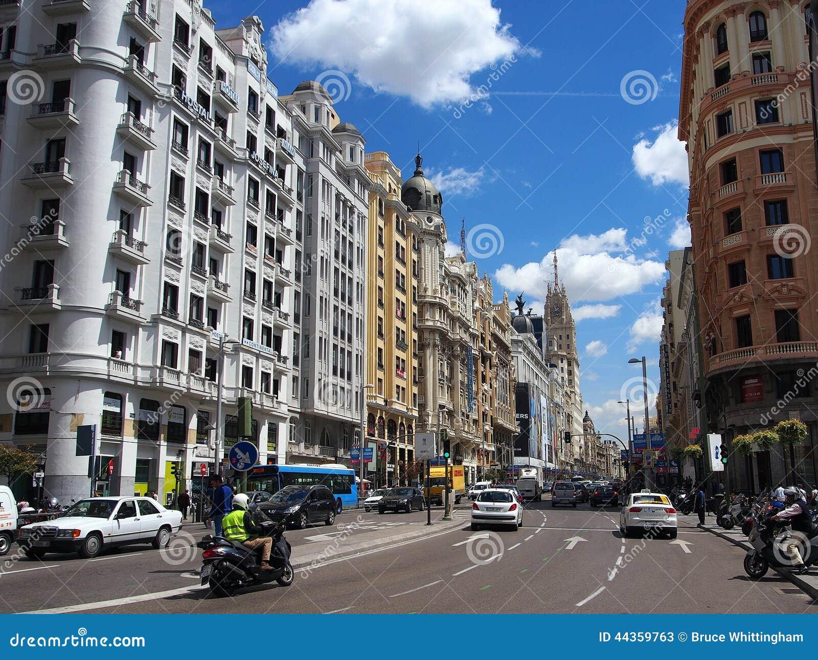 Grande via, Madrid