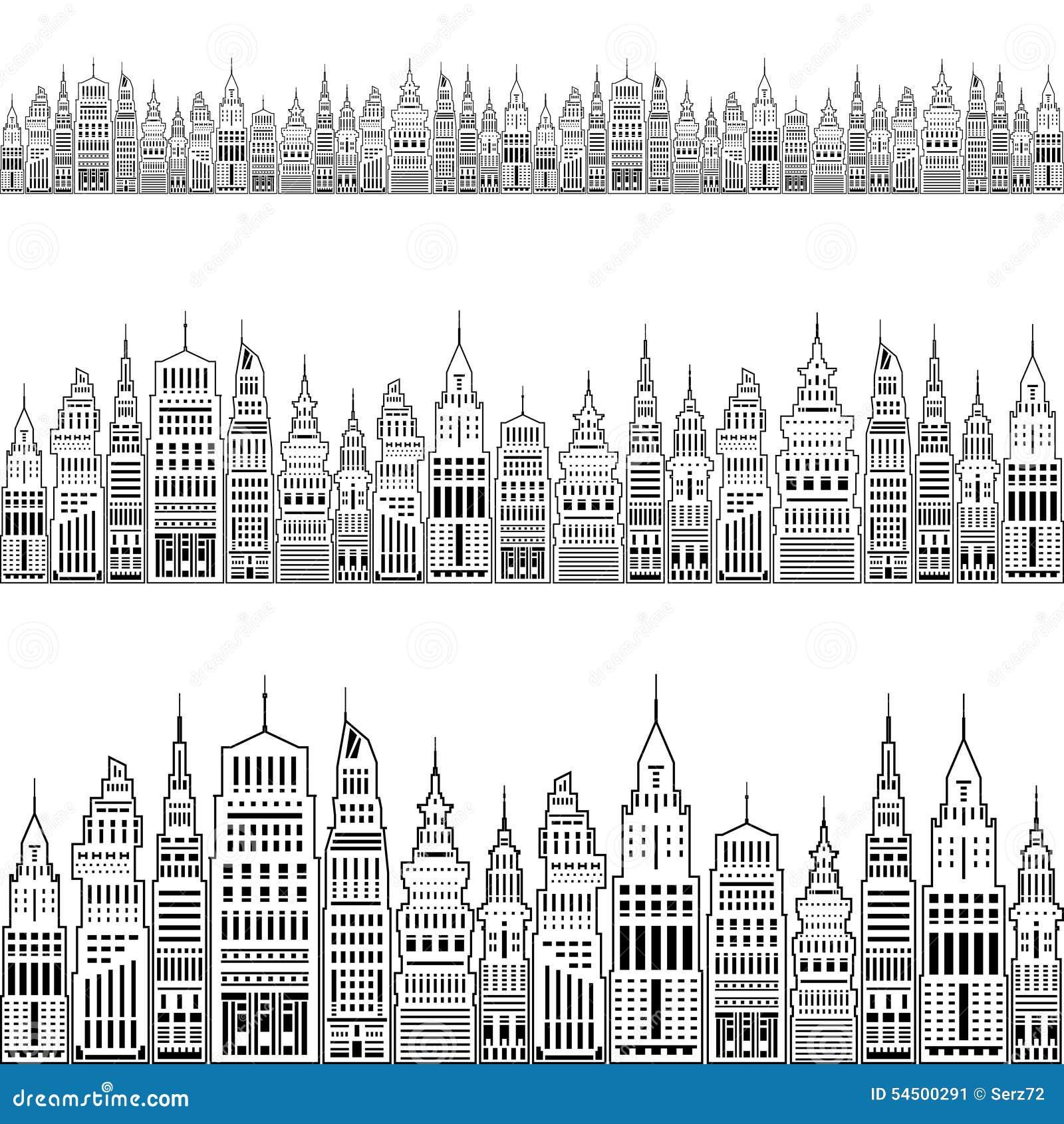 Grande ville moderne